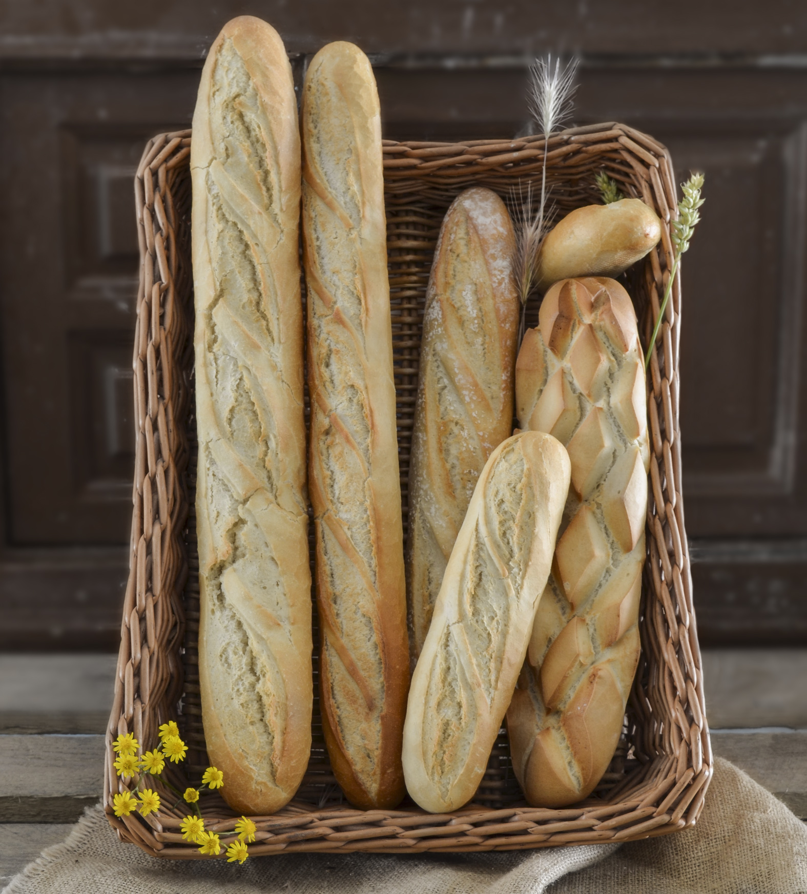 Pan blanco Pastinata